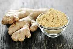Ginger root Stock Photos