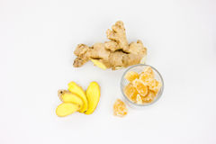 Ginger Root Royalty Free Stock Photos