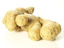 Ginger root, closeup Stock Photography