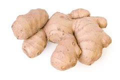 Ginger root isolated Royalty Free Stock Image