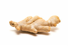 Ginger root isolated on white background Stock Image