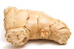 Ginger root level upclose Stock Photography