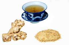 Ginger,root,tea Royalty Free Stock Images