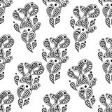 Ginger seamless pattern Stock Photography