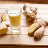 Ginger shot Royalty Free Stock Photos