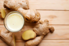 Ginger shot Royalty Free Stock Images