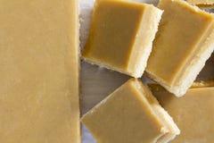 Ginger Slice Cut y apilado Fotografía de archivo libre de regalías