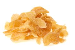 Ginger slices Royalty Free Stock Photo