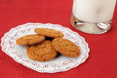 Ginger snap cookies Stock Photography