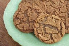 Ginger Snap Cookies Fotos de archivo