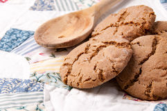 Ginger Snap Cookies Stock Afbeeldingen