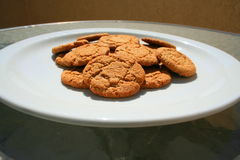 Ginger Snap Cookies Stock Photos