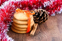 Ginger snaps cookies Royalty Free Stock Photo