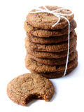 Ginger Snaps Tied with Twine Stock Photography