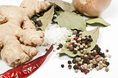 Ginger and spice Stock Photography