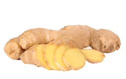 Ginger spices Stock Photography