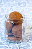 Ginger spicy cookies Stock Photo