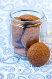 Ginger spicy cookies Stock Photography