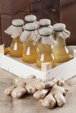 Ginger syrup Stock Photography