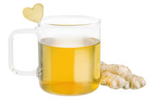 Ginger Tea Royaltyfria Foton