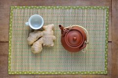 Ginger Tea Immagini Stock
