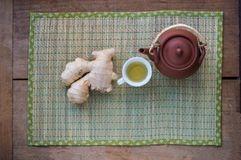 Ginger Tea Photo libre de droits