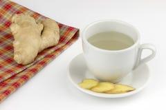 Ginger Tea Royaltyfri Fotografi