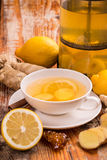 Ginger Tea Imagens de Stock Royalty Free