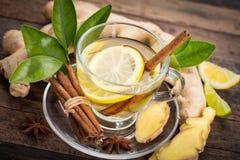 Ginger Tea foto de archivo libre de regalías
