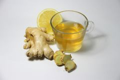 Ginger Tea Imagens de Stock
