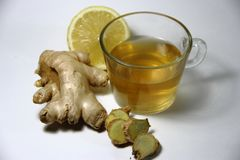 Ginger tea Royalty Free Stock Photos