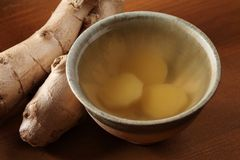 Ginger tea Royalty Free Stock Image