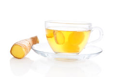 Ginger tea. Royalty Free Stock Photo
