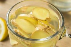 Ginger Tea fresco casalingo immagine stock