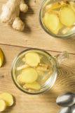 Ginger Tea fresco casalingo fotografie stock
