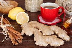 Ginger tea Stock Photo