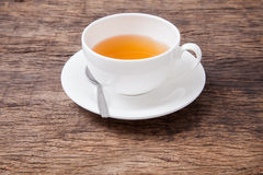 Ginger tea in white cup Royalty Free Stock Photo