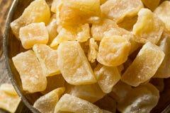 Ginger Treats glacé doux organique photo stock