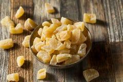 Ginger Treats glacé doux organique photo libre de droits