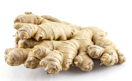 Ginger tuber Royalty Free Stock Images