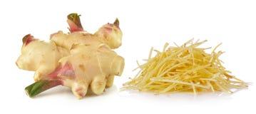 Ginger on white background Stock Image