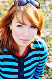 Ginger woman Stock Photography