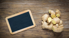Ginger on wood Stock Photography