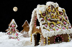 Gingerbead house Royalty Free Stock Photography