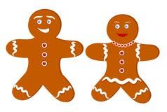 gingerbread пар Стоковое Изображение RF
