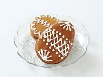 gingerbread пасхальныхя Стоковые Фото