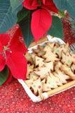 gingerbread печений рождества стоковые изображения