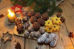 gingerbread печений рождества сделал помадки дворца Стоковое фото RF