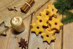 gingerbread печений рождества сделал помадки дворца Стоковые Фото