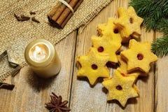 gingerbread печений рождества сделал помадки дворца Стоковое Изображение